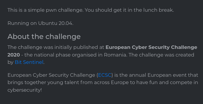 Challenge Description